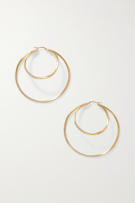 COMPLETEDWORKS Manifold Gold Vermeil Topaz Earrings - one size