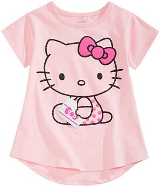 Hello Kitty Little Girls Kitty-Print T-Shirt