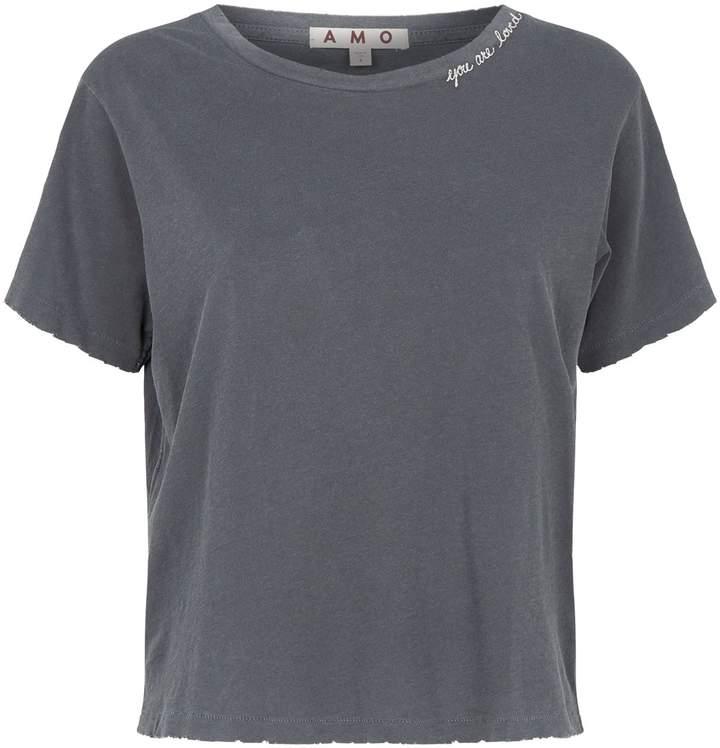 Amo Denim Slogan T-Shirt