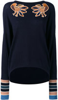 Antonia Zander Coline jumper - women - Cotton/Polypropylene/Cashmere - M