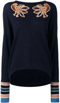 Antonia Zander Coline jumper - women - Cotton/Polypropylene/Cashmere - S