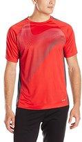 Avia Men's Interlock Short Sleeve Performance T-Shirt
