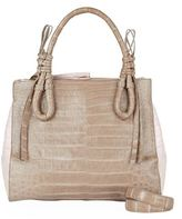 Nancy Gonzalez Medium Crocodile Double-Zip Tote Bag