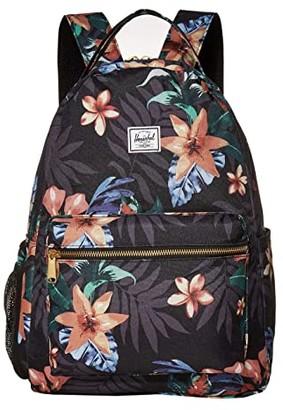 Herschel Kids Nova Sprout Diaper Backpack (Summer Floral Black) Backpack Bags