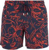 Vilebrequin Moorea Coquillages Crustacé-print swim shorts