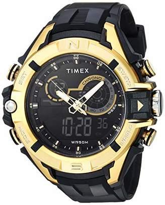Timex Men's TW5M23100 DGTL Guard Bold Combo 47mm Resin Strap Watch