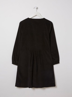 Fat Face Mina Cord Dress - Black