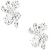 Nadri Marion Bow Stud Earrings