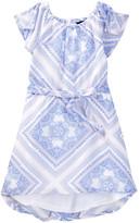 Tommy Hilfiger Scarf Printed Chiffon Dress (Toddler Girls)