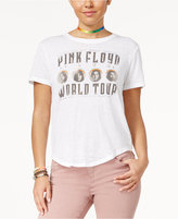 Freeze 24-7 Juniors' Pink Floyd High-Low Graphic T-Shirt