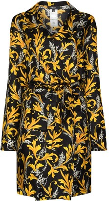 Versace Donna print robe