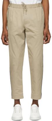 Moncler Tan Side Stripe Sportivo Trousers