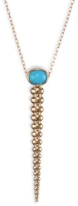 Nikos Koulis Spectrum Turquoise Pendant Necklace