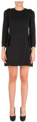 Alberta Ferretti Fringe Detail Mini Dress