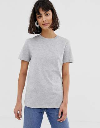 Selected My Perfect T-shirt in grey