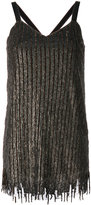Aviu sequin embellished mini dress