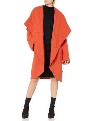 Norma Kamali Women's Shawl Collar Coat