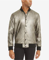 Kenneth Cole Reaction Men's Metallic Bomber Jacket