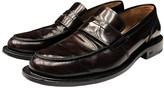 Ami Burgundy Patent leather Flats