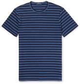 Polo Ralph Lauren Mélange Striped Cotton-Blend Jersey T-Shirt