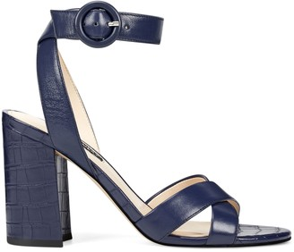 Nine West Nikki Block Heel Sandals