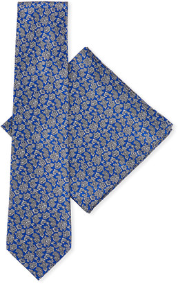 Stefano Ricci Men's Luxe Floral Tie Set