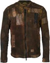 Giorgio Brato patchwork jacket