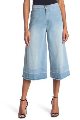 Frame Le Culotte Release Hem Flare Leg Jeans