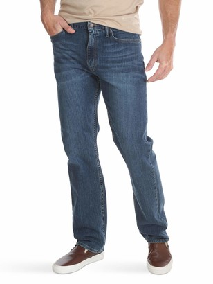 Wrangler Authentics Men's Big and Tall Classic Five-Pocket Regular Fit Straight Leg Jean