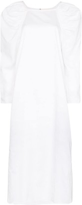 Mara Hoffman Elisabetta pouf-sleeve dress