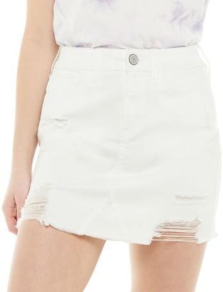 Juniors' SO 5 Pocket Denim Skirt