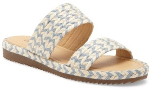Lucky Brand Women's Decime Woven Slide Sandals Women's Shoes