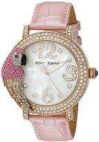 Betsey Johnson Women's BJ00571-02 Analog Display Quartz Pink Watch