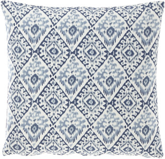 "French Laundry Home Diamond Pillow, 20""Sq."