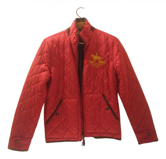 Polo Ralph Lauren Red Synthetic Coats
