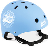 Janod Blue Checkerboard Adjustable Pushbike Helmet