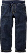 Carter's Toddler Boys' Pull-On Denim Pants