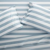 Crate & Barrel Marimekko Kesahelle Teal Stripe Sheets and Pillow Cases