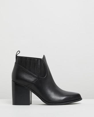 Sol Sana Women's Black Chelsea Boots - Leonardo Boots - Size 36 at The Iconic