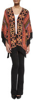 Etro Geometric Silk Fringe Jacket