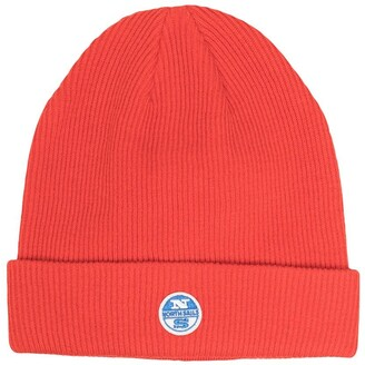 North Sails Kids Logo-Patch Knitted Hat