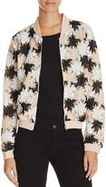Lucy Paris Lace Bomber Jacket - 100% Exclusive