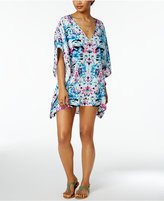 Bar III Hot Tropics Caftan Cover-Up, Only at Macy's