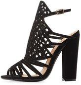 Charlotte Russe Qupid Laser Cut Dress Sandals