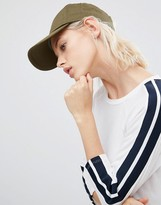 Asos Plain Baseball Cap with New Fit