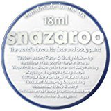 Halloween Scary Clown IT Snazaroo Water Based Face & Body Make Up For Fancy Dress - White 18ml by Snazaroo