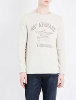 Polo Ralph Lauren Aviation print cotton-blend sweatshirt