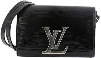 Louis Vuitton Louise Black Patent leather Handbags