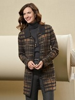 Pendleton Sketchbook Sweater Coat