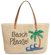 Nordstrom Beach Please Tote - Brown